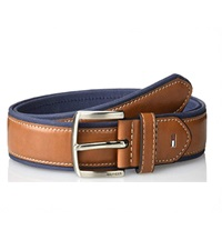 tommy hilfiger ribbon inlay mens belt