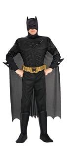 Men's Batman Deluxe Costume