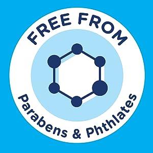 paraben phthalate free