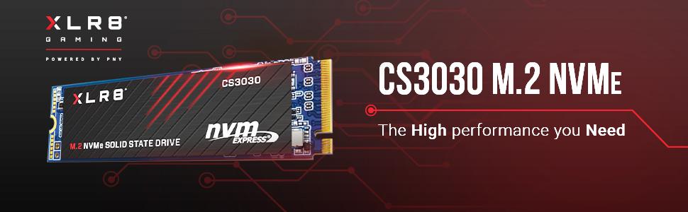 XLR8 CS3030 M.2 NVMe