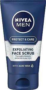 mens scrub; mens exfoliator; exfoliant; scrub; face scrub; mens face wash; mens face