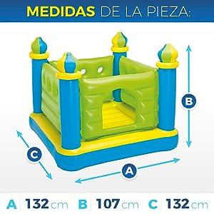 Intex 48257NP - Castillo Saltador Hinchable: Amazon.es: Juguetes y ...
