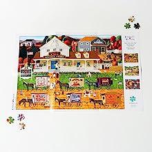 bonus puzzle poster included