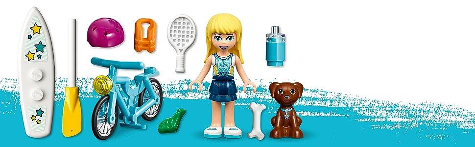 Friends, sports, LEGO
