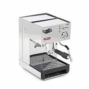 Lelit PL41LEM Anna, Máquina de Espresso Semiprofesional – Manómetro Retroiluminado - Ideal Para el Expreso, el Capuchino y las Cápsulas de Papel, 1000 W, 2 litros, acero inoxidable, plateado: Amazon.es: Hogar