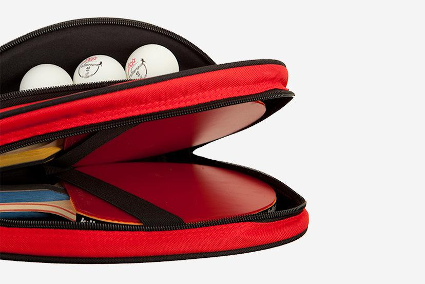 Killerspin Barracuda Ping Pong Bat Carry Case Padded