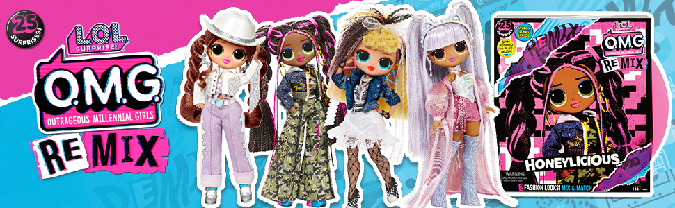 lol surprise remix, remix, remix dolls, toys, new fashion dolls, new toys for girl, hottest doll