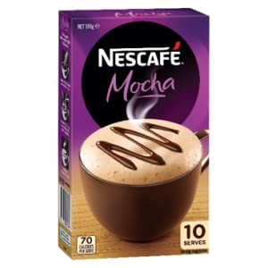 nescafe mocha coffee sachets 10 pack