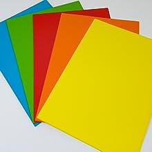 Carton coloré
