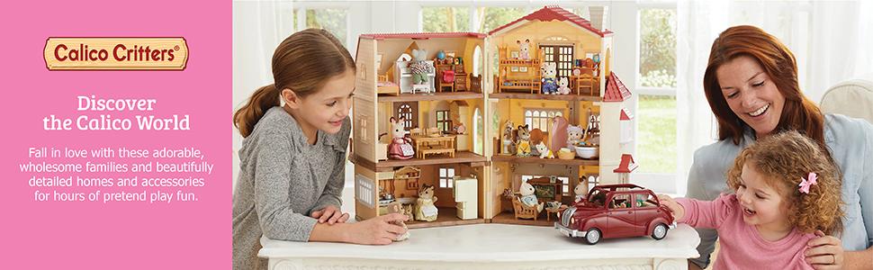 dolls, dollhouse, critters, cute, figures, lil woodzeez, collectible, animal dolls, calico, hedgehog