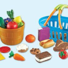 Amazon.com: Learning Resources New Sprouts Deluxe Market