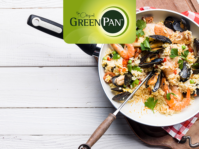 GreenPan, Healthy Ceramic Nonstick, cookware set, pots and pans
