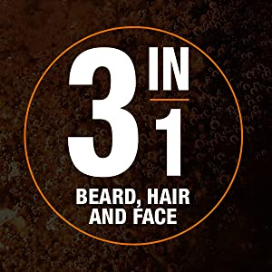3in1 beard, face and hair