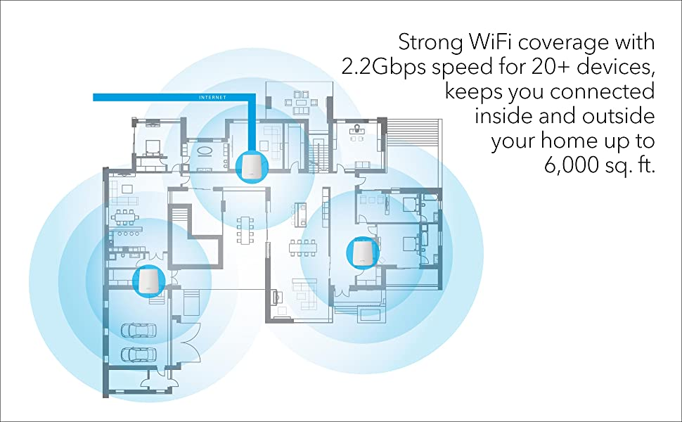 strong wifi coverage