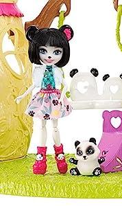 Amazon.com: Enchantimals Panda Tree House Playset: Toys