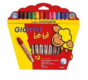 giotto; giotto be-bè; giotto bebe; matite colorate; pastelli; lavabili; dermatologicamente testati