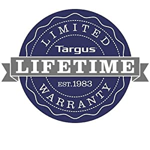Targus - Limited Lifetime Warranty
