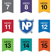 Nordic Pure, MERV rating, filter, filtration, air conditioner, furnace, air filter, variety