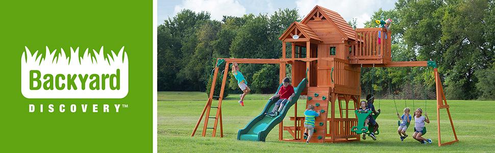 Skyfort II Swing Set