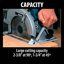 capacity large cutting two three-eighths ninty degree ange forty-five degrees one and three-forths