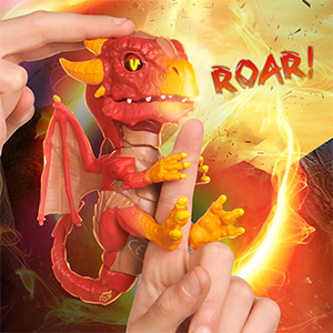 Untamed Dragons respond to touch