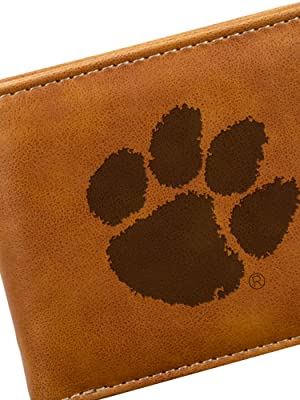 NCAA Rico Industries  Laser Engraved Front Pocket Wallet Oklahoma Sooners