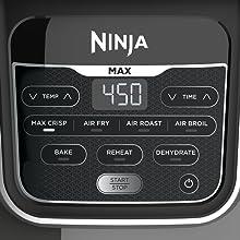 Ninja AF161 Max XL Air Fryer, 5.5 Quart, Grey