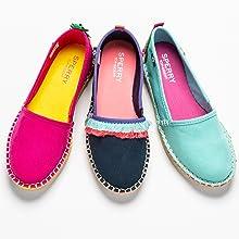 Sperry girls skysail slip on shoe