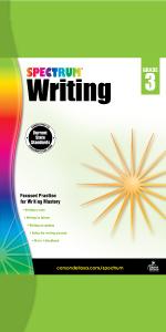 spectrum writing workbook grade 3