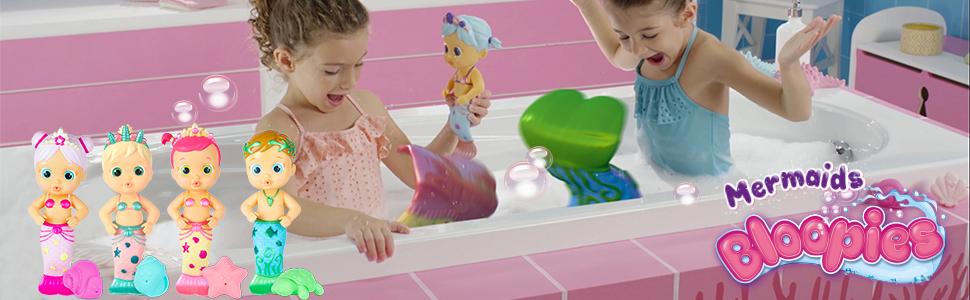 Bloopies mermaid dolls