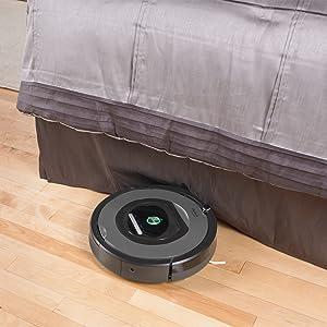 iRobot Roomba 772 Robot Aspirador, Alto Rendimiento de Limpieza, Programable, Atrapa el Pelo de Mascotas, 33 W, 61 Decibelios, Plata: Amazon.es: Hogar