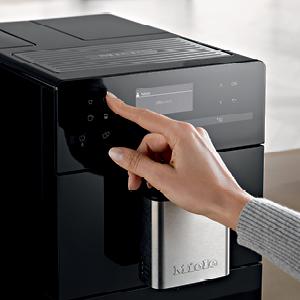 Miele, Coffee, CM5, DirectSensor Control Panel