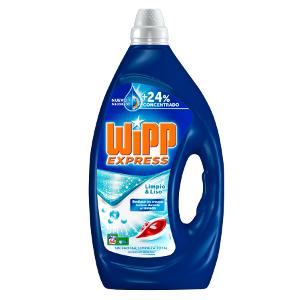 Wipp Express Detergente Líquido Concentrado Azul - 64 Lavados (3,2 ...