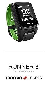 TomTom Runner 3 Cardio+Music+Auriculares, Reloj cardio, música y ...