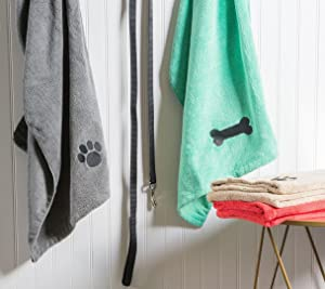 Dii Bone Dry Microfiber Pet Bath Towel With