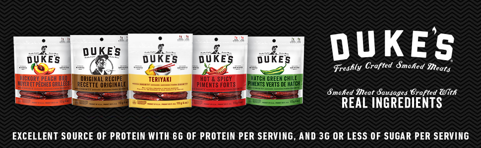 dukes, shorty, sausages