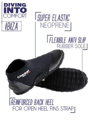 neoprene diving boots scuba dive boots short boots unisex boots canoeing boots warmer boots non-slip