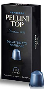 Pellini Caffé DECA 100% Arabica espresso italiano