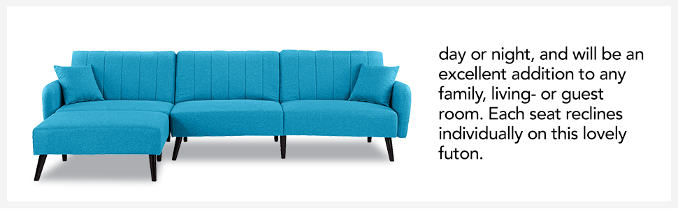 Astonishing Futon Sleeper Sofa Bed Couch Convertible Futon Sofa Sectional With Chaise Sofa To Bed Feature Modern L Shaped Lounger Sectional Sofa Fully Alphanode Cool Chair Designs And Ideas Alphanodeonline