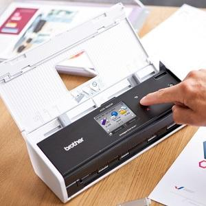 scanner con display touch
