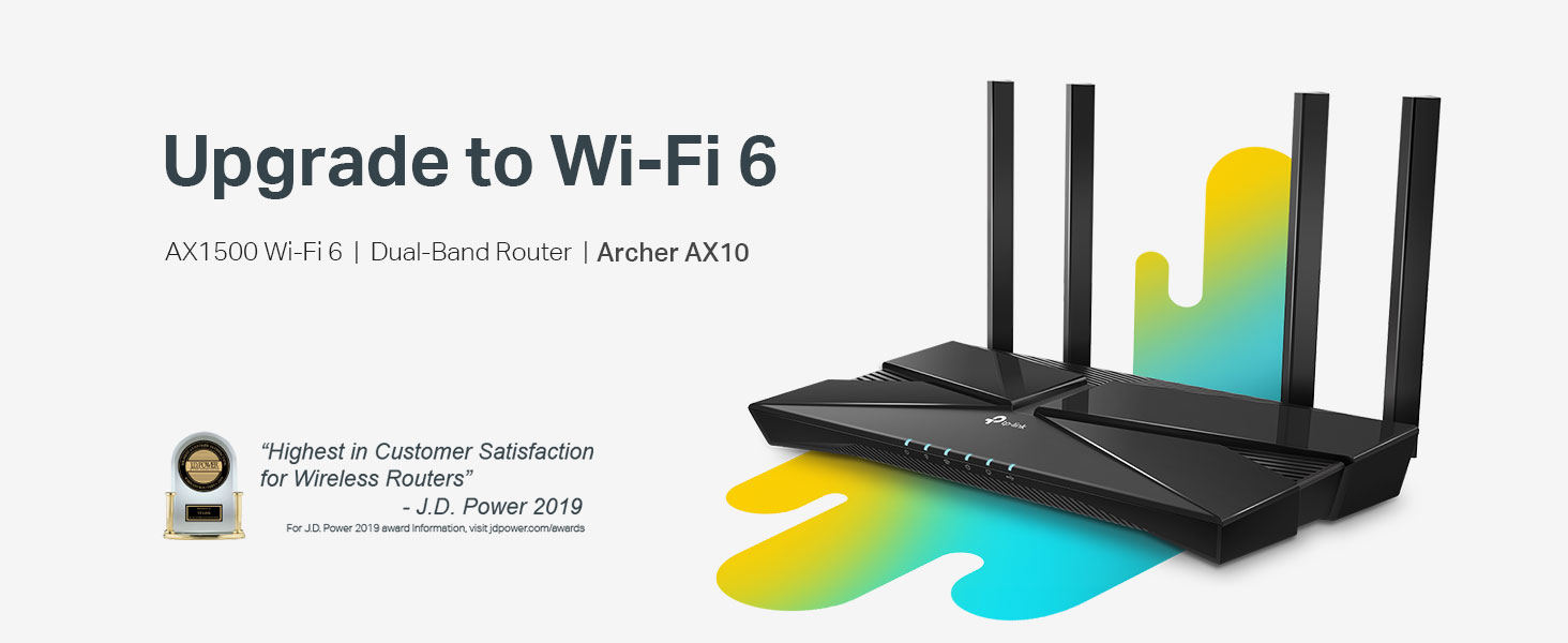 Archer AX10 WiFi 6 Router