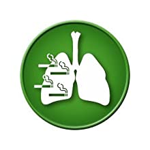 Risk of lung cancer reduces to about half