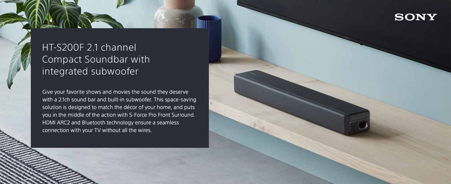 Sony S200f 21ch Sound Bar With Built In Subwoofer And Difference Between Parallel Series Sub Wiring From The Manufacturer