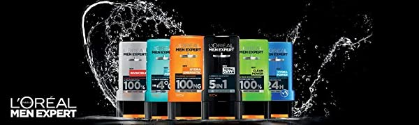 Men Expert Shower Gels