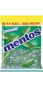 Mentos Candy Dragee Roll Pillow Pack Fun Mint Fruit Flavour Fresh Fun Share Party Bag