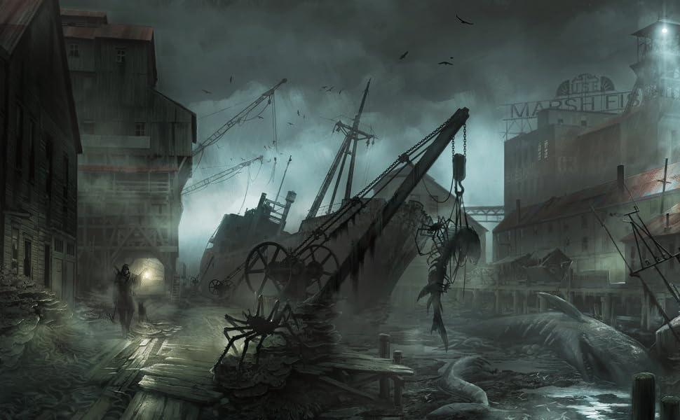 The Sinking City; PS4; videogioco investigativo; sherlock Holmes; Switch;