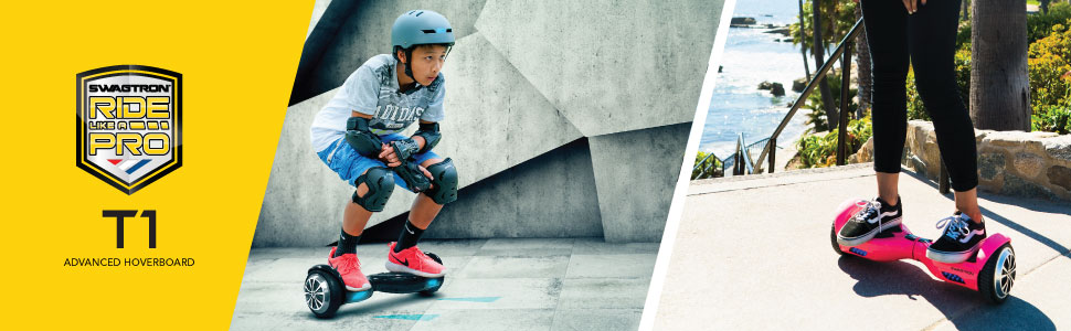Swagtron Swagboard Pro T1 features an upgraded 250 Watt motor