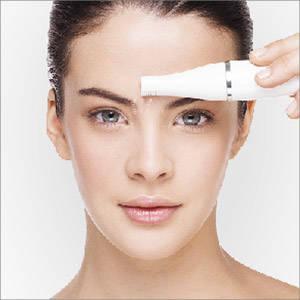 Braun Face Gesichtsepilierer und Gesichtsreinigungsbürste