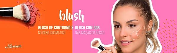 blush, contorno, maquiagem, makeup, make, marchetti,