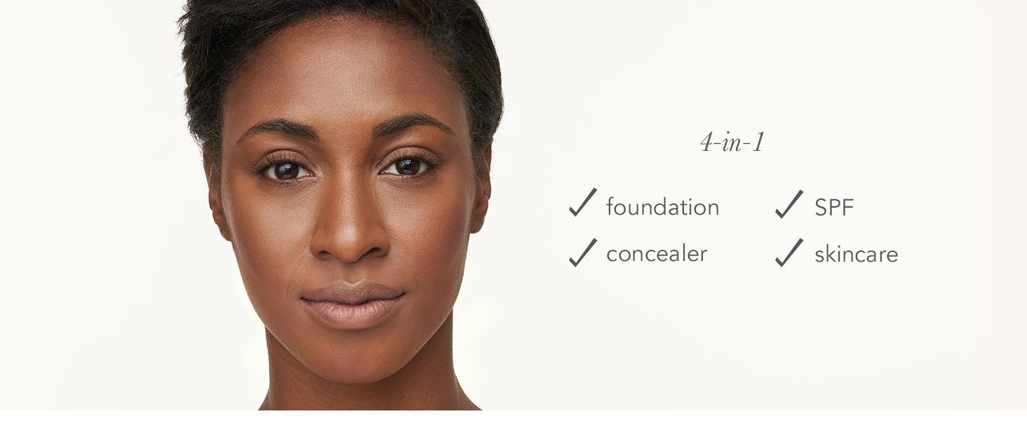 purepressed base jane iredale makeup foundation clean vegan cruelty-free full coverage mineral